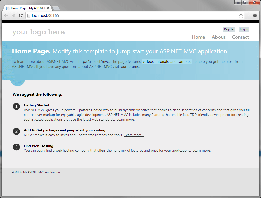 Use with asp net mvc 4 telerik ui for asp net mvc for Asp net mvc 4 bootstrap layout template