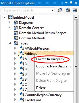 Model Object Explorer