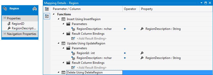 How to: Convert CRUD Stored Procedures