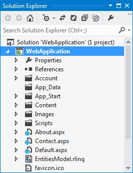 Using Telerik® Data Access Project Templates