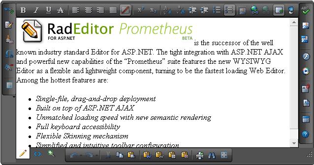 Docking Zones   RadEditor for ASP NET AJAX Documentation   Telerik