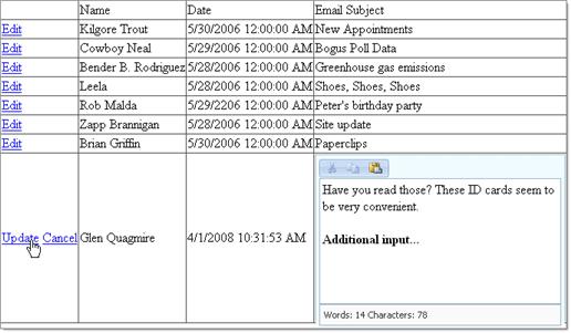 edit item template in asp.net gridview