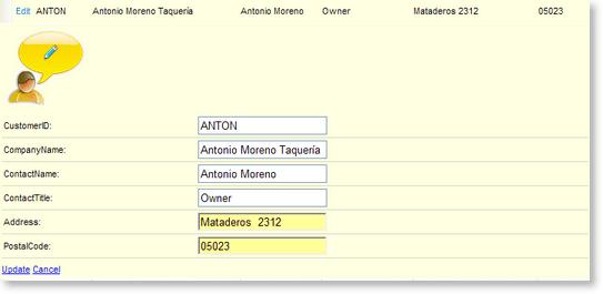 Customizing Row Appearance | RadGrid for ASP NET AJAX Documentation