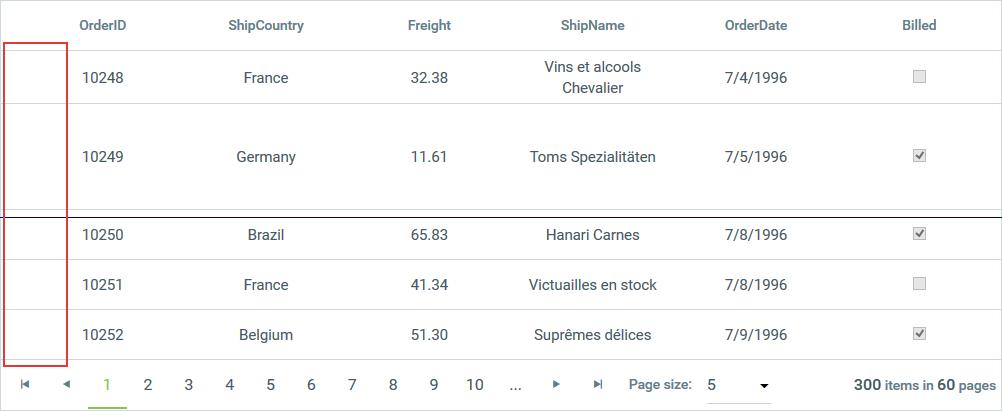 Column Types | RadGrid for ASP NET AJAX Documentation | Telerik UI