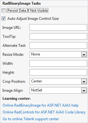 RadBinaryImage | UI for ASP NET AJAX Documentation | Telerik