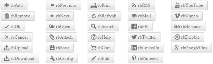 Embedded Icons   RadLinkButton for ASP NET AJAX Documentation