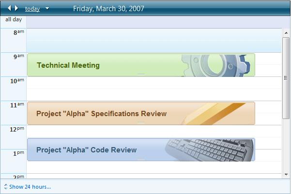 templates radscheduler for asp net ajax documentation telerik ui