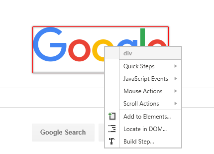 Highlighting Elements | Test Studio Dev Documentation | Progress
