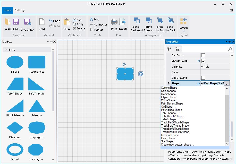custom shapes   raddiagramdiagram custom shapes