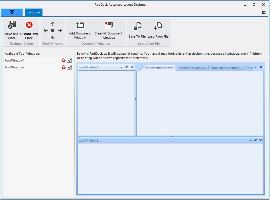 Dock   RadDock   Telerik UI for WinForms