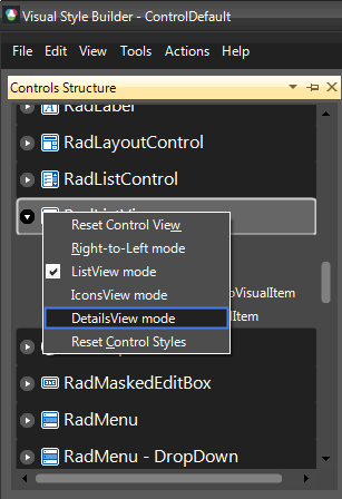 Themes | RadFontDropDownList | Telerik UI for WinForms