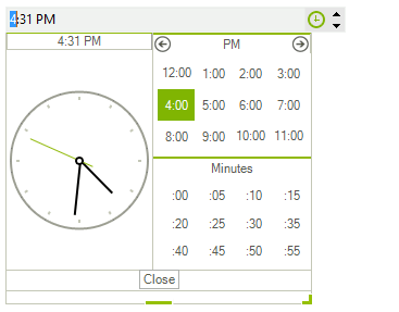 Time Picker | RadTimePicker | Telerik UI for WinForms
