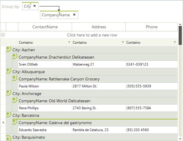 Export to Excel | RadGridView | Telerik UI for WinForms