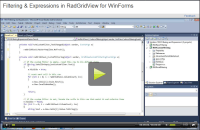 Basic Filtering   RadGridView   Telerik UI for WinForms