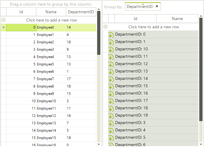 Sorting group rows | RadGridView | Telerik UI for WinForms