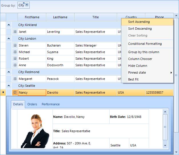 Themes   RadGridView   Telerik UI for WinForms