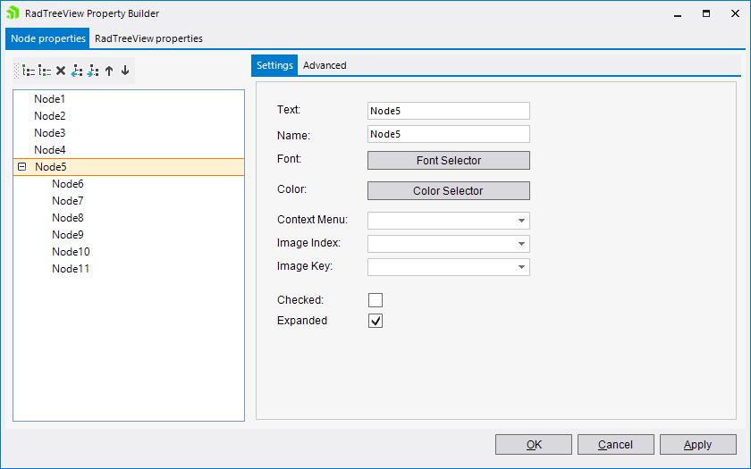 TreeView | RadTreeView | Telerik UI for WinForms