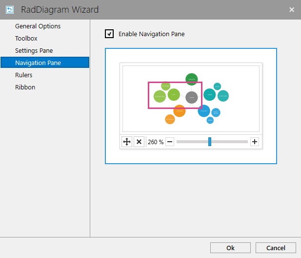 Enable the DiagramNavigationPane