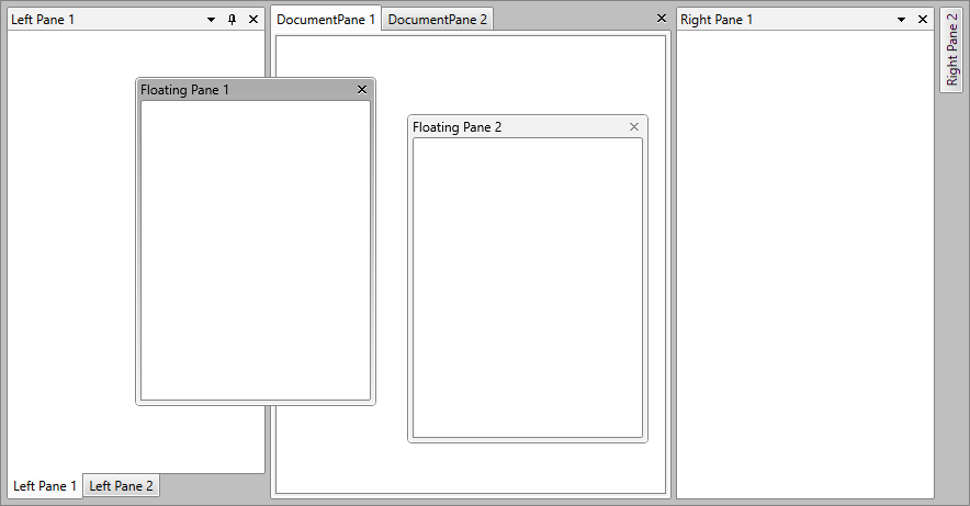 tool window ui for wpf documentation by progress