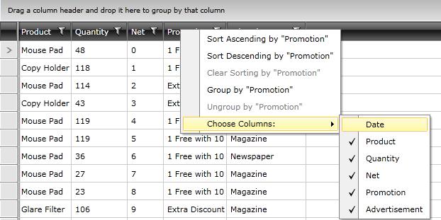 how to use context menu strip