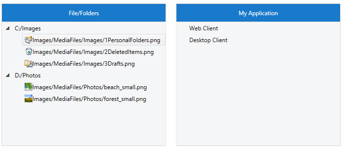 Implement Drag and Drop Between TreeViews | Telerik UI for WPF