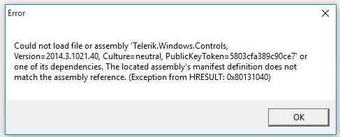 Installing WPF Demos application   Telerik UI for WPF