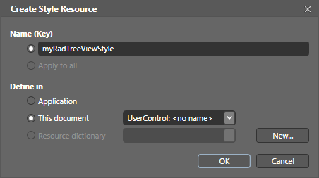 wpf menu template - editing control templates in expression blend ui for wpf
