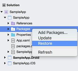 Getting Started with Telerik UI for Xamarin Forms on Mac | Telerik