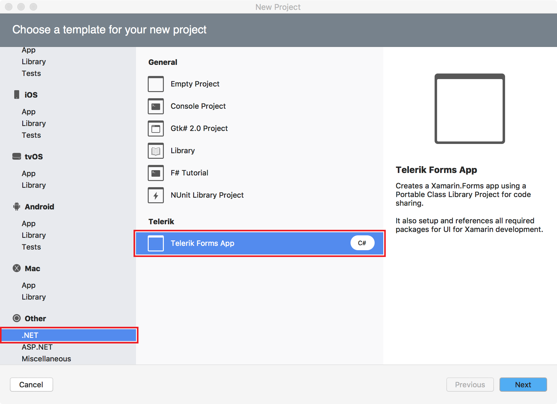 Project wizard for xamarin studio for Xamarin studio code templates