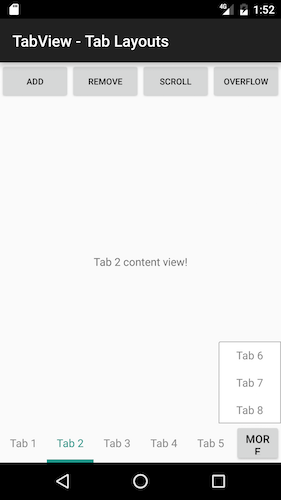 RadTabView Overview | Telerik UI for Xamarin Android