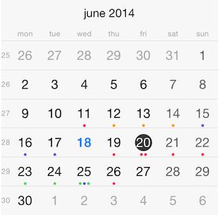 Calendar Getting Started   Telerik UI for Xamarin