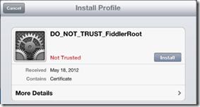 Configure Fiddler for iOS | Progress Telerik Fiddler