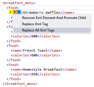 Replace All Xml Tags | JustCode Documentation