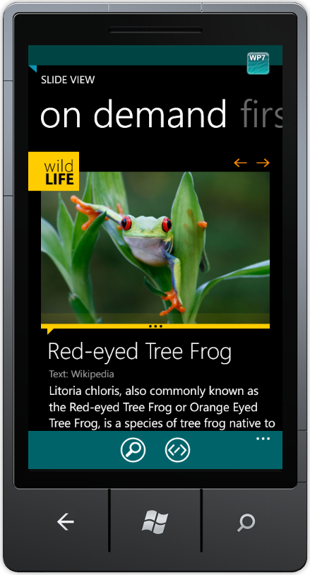 Overview ui for windows phone 8 documentation for Telerik window