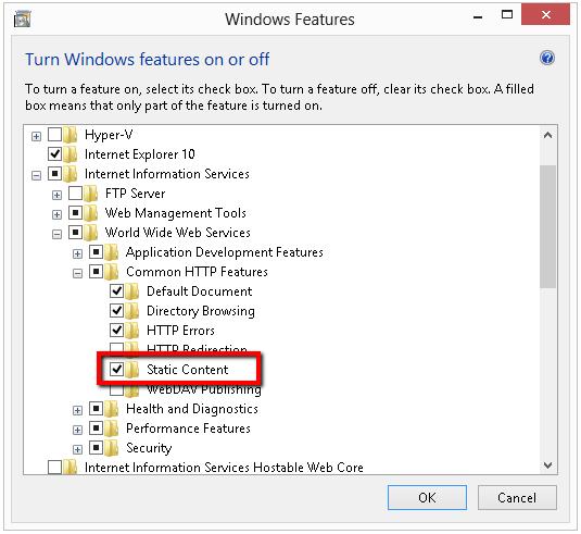 Configuring the Web Server