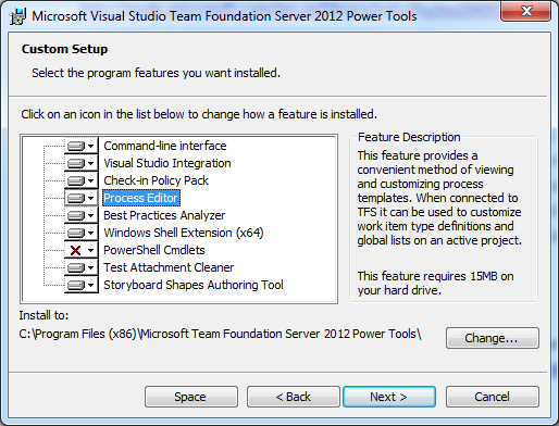 Upgrade TeamPulse TFS Process Template (TeamPulse v1.0) to access ...