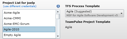 TFS process template