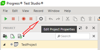 Edit Project Properties