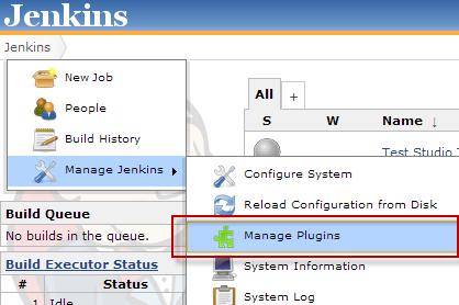 Jenkins CI | Progress Test Studio