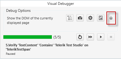 Visual Debugger Send Bug