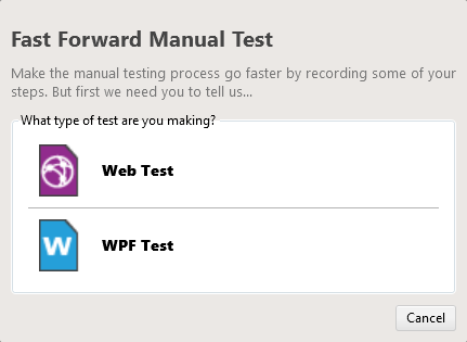 Fast Forward Manual Test | Progress Test Studio