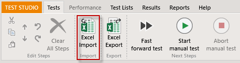 Excel Import