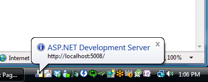ASP.NET Development Server