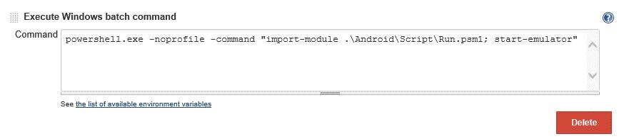 Android CI | Progress Test Studio